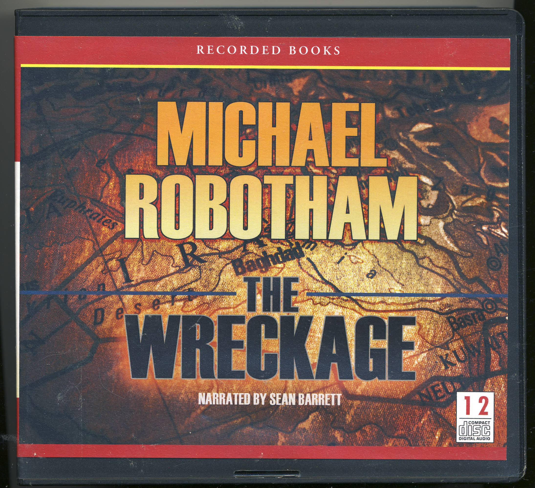 The Wreckage By Michael Robotham Unabridged CD Audiobook Sean Barrett 9781449858704 Amazon Books