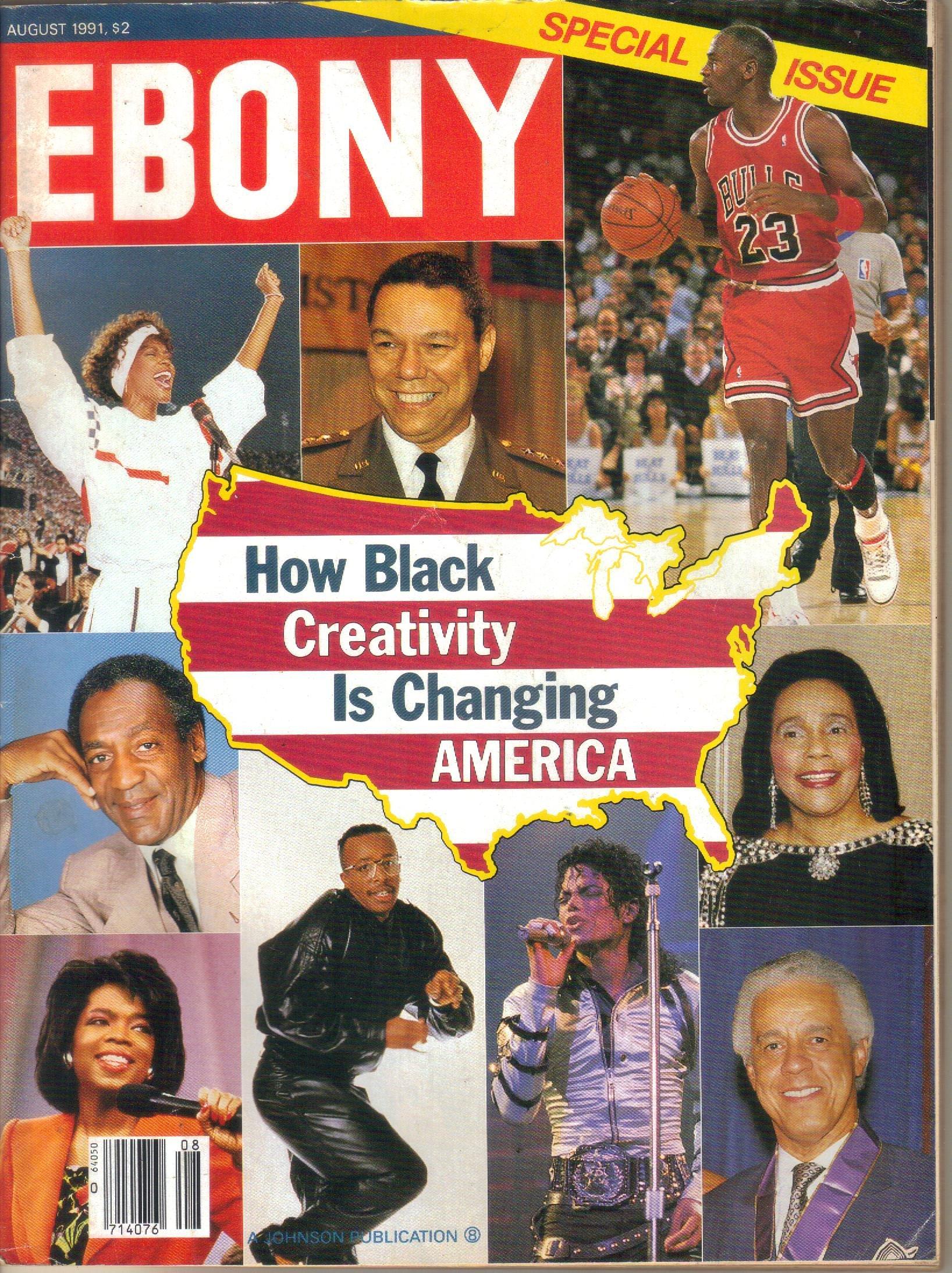 EBONY Magazine, Vol. 46, No. 10 (August, 1991): Herbert Temple ...