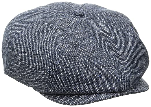 90574e63 Brixton Men's Brood Snap Cap, Navy/Cream, XS: Amazon.in: Clothing ...