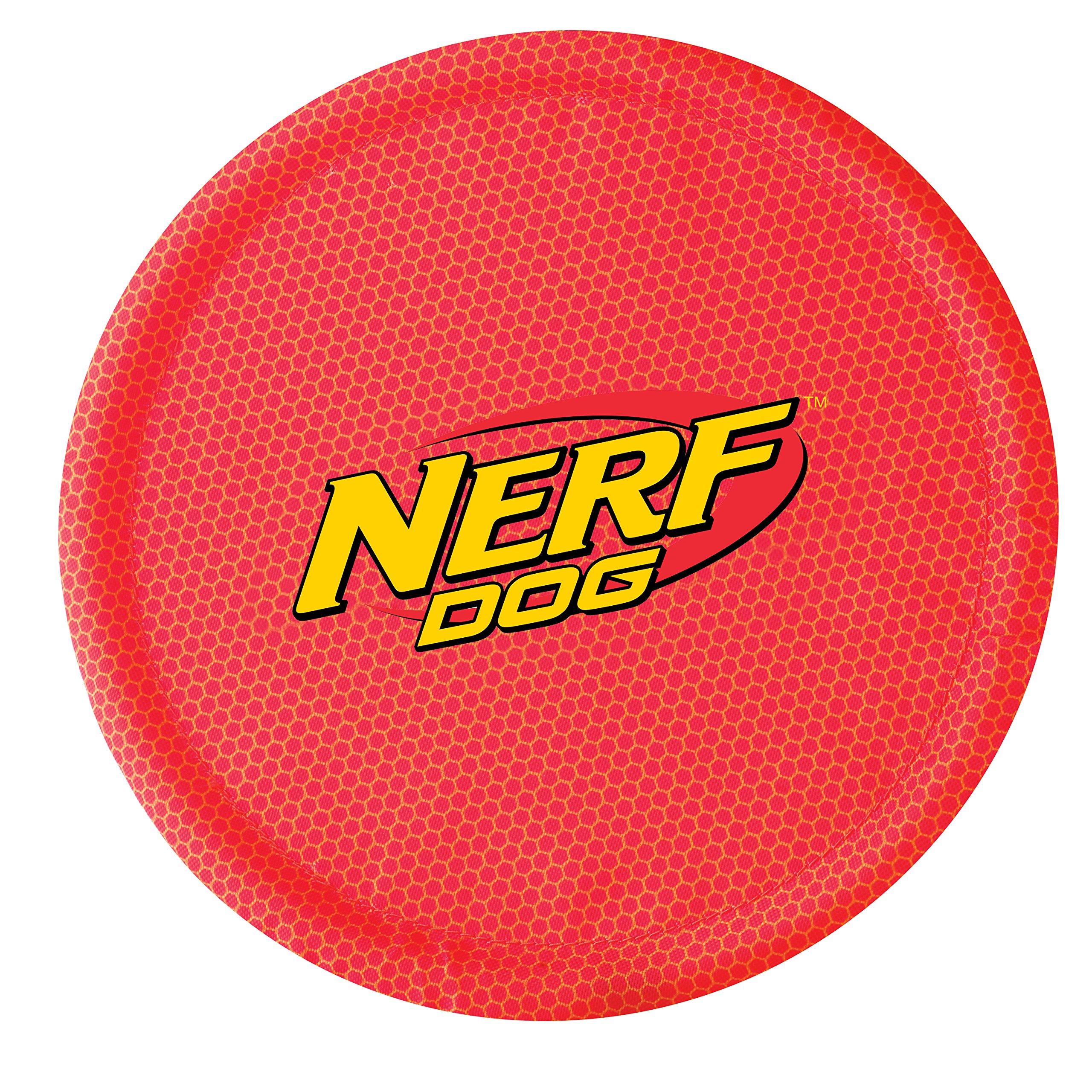 Nerf Dog Nylon Flyer Red Single