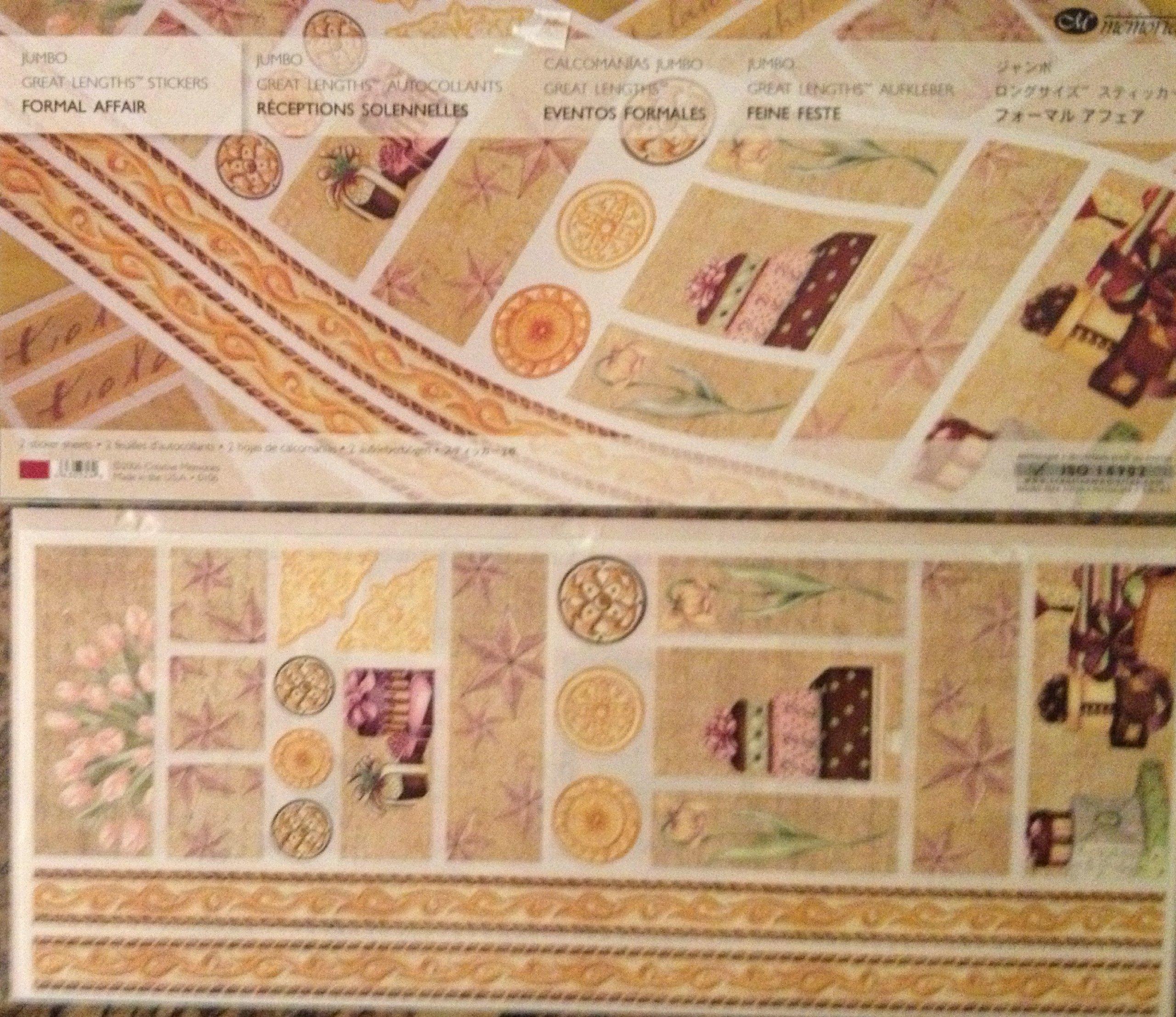 Jumbo Great Lengths Stickers: FORMAL AFFAIR