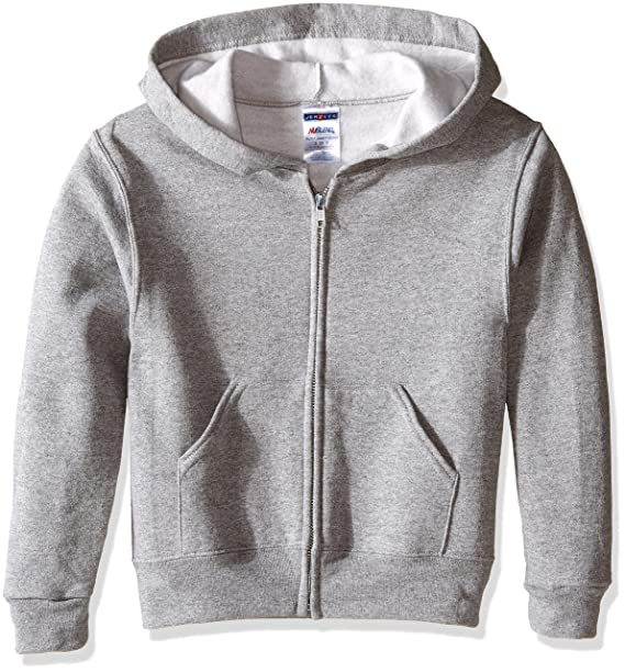 ab91d929752 Amazon.com  Jerzees Youth Full Zip Hooded Sweatshirt  Clothing
