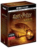 Harry Potter - All 8 Movies Collection from Years 1 to 7 (4K UHD & HD) (16 Disc Box Set) includes Official Harry Potter Merchandise (Pouch)