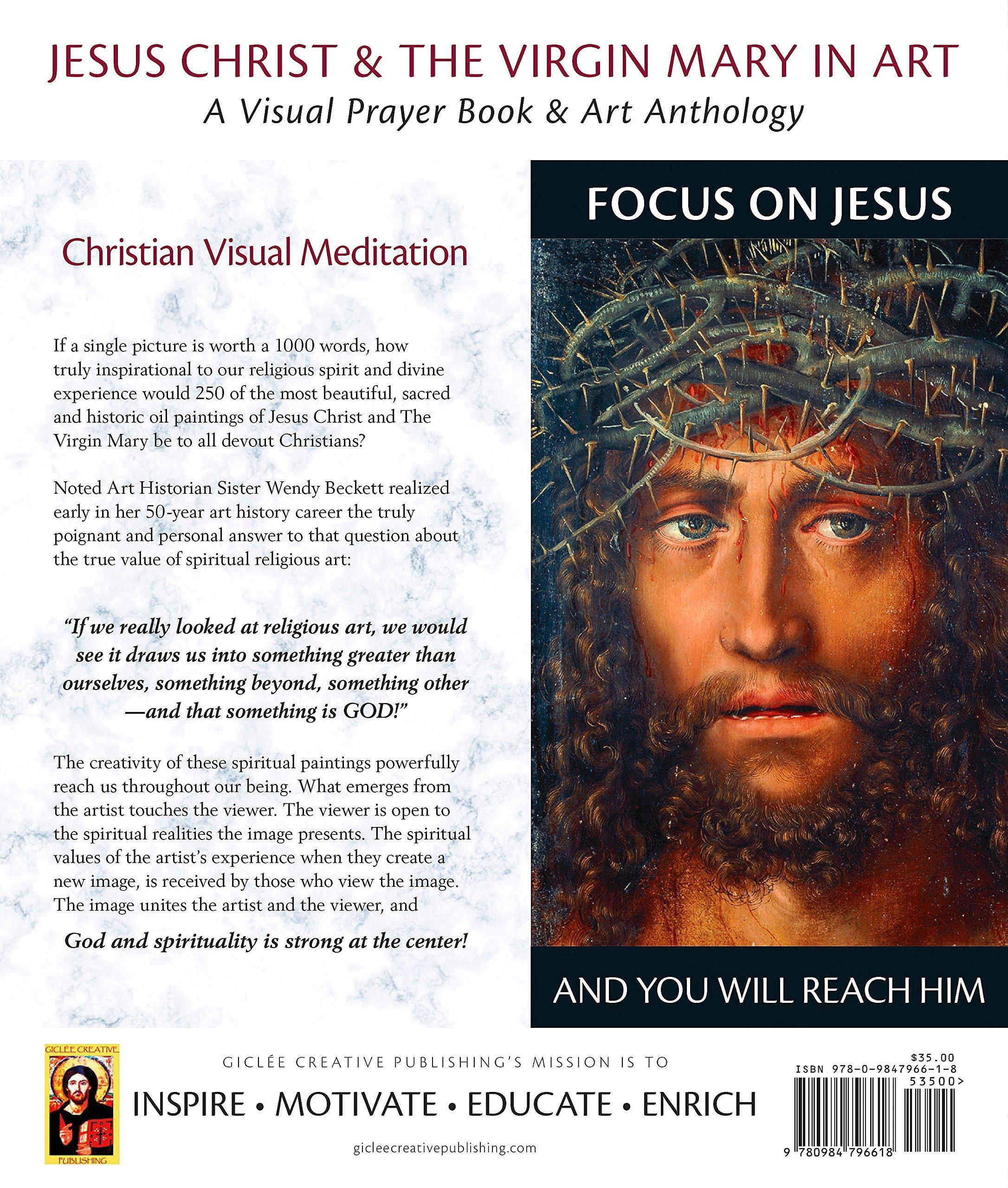 jesus christ u0026 the virgin mary in art a visual prayer book u0026 art
