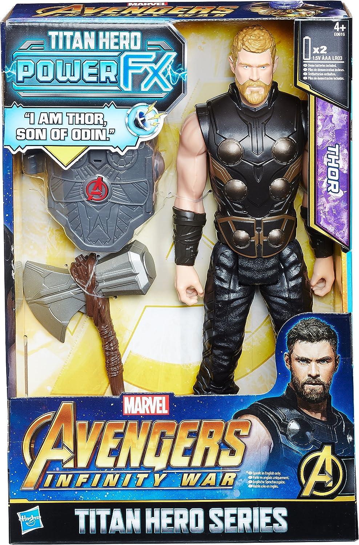 Marvel- Titan Y Mochila Power Fx Thor - Versión Portuguesa (Hasbro E0616EW0): Amazon.es: Juguetes y juegos