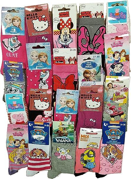 Disney Socks. Pack de calcetines con licencia de fantasía – Surtido modelos de fotos según disponibilidad.: Amazon.es: Ropa y accesorios