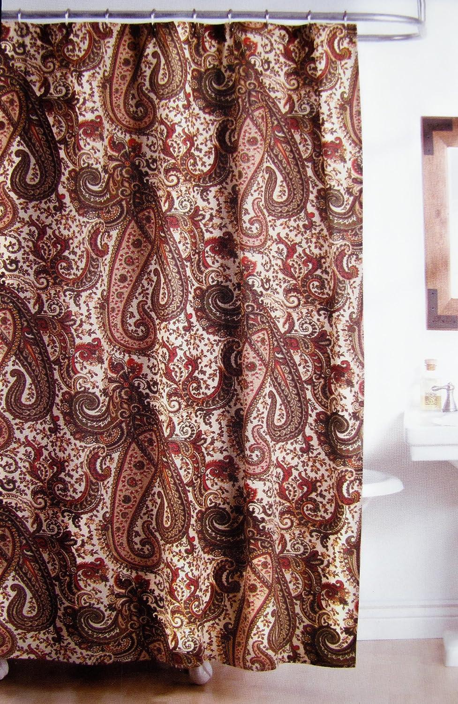 Beautiful Amazon.com: Ralph Lauren Bridgette Paisley Fabric Shower Curtain: Home U0026  Kitchen