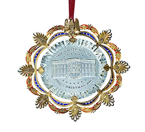 White House Christmas Ornament.2002 White House Christmas Ornament The East Room In 1902