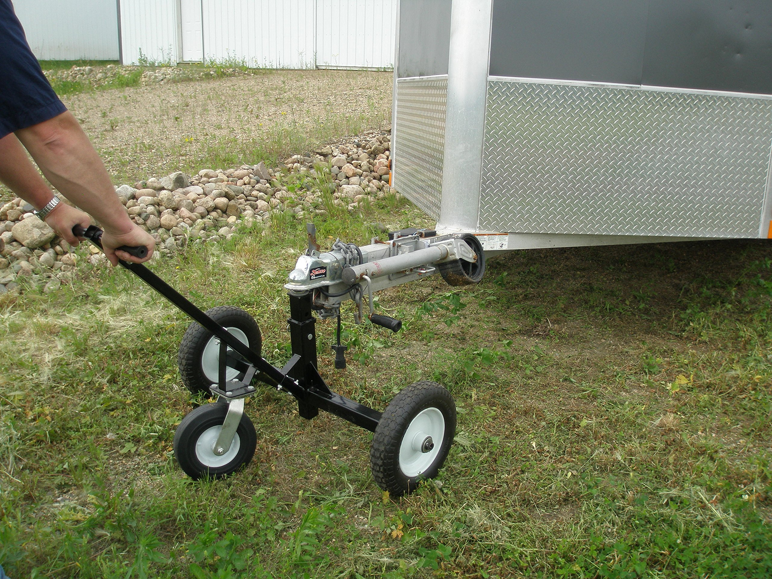 Tow Tuff HD Dolly Adjustable Trailer Moves with Caster by Tow Tuff (Image #4)