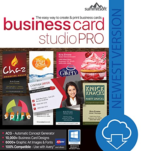 Amazon business card studio pro download software business card studio pro download reheart Image collections
