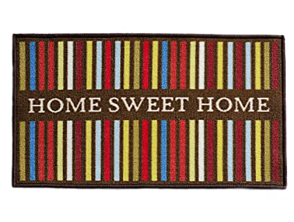 Amazon Com Totem Ideas Home Sweet Home Indoor Welcome Mat Front