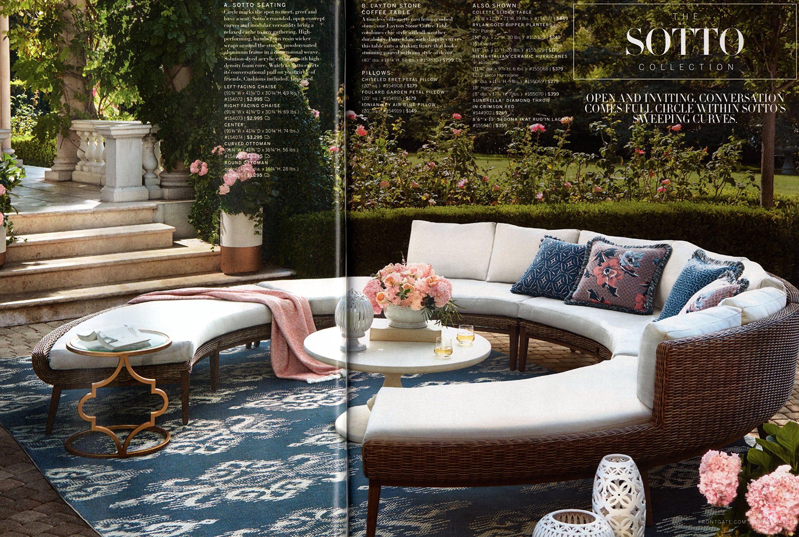 Frontgate - March 2017. Upscale Furnishing and Design ...