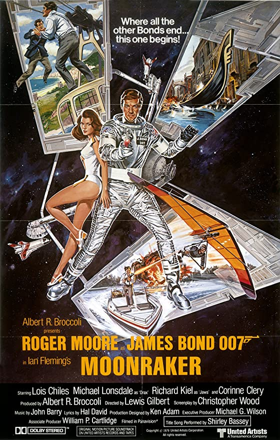 Amazon.com: The Gore Store Moonraker Movie Poster (1979): Posters ...