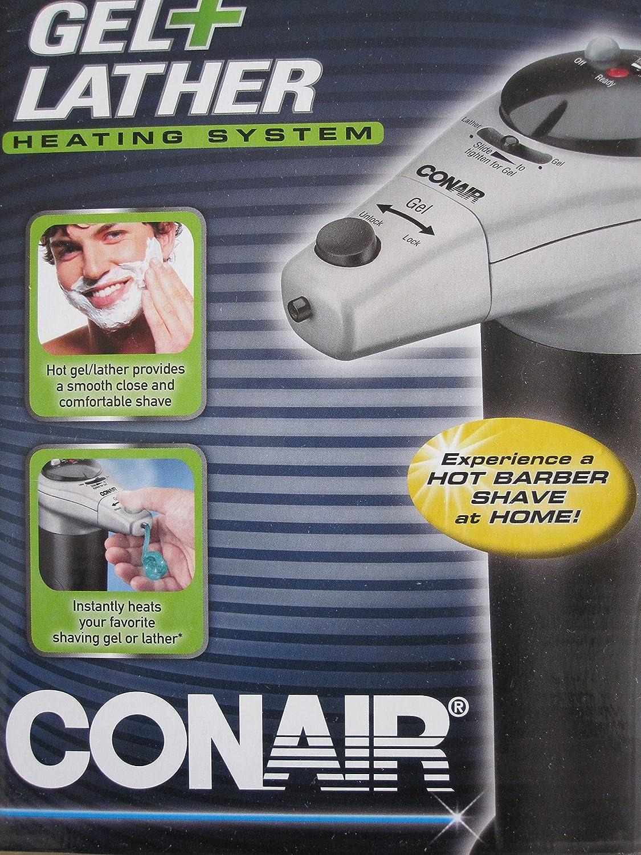Amazon.com : Combination Gel Foam Hot Lather Shaving System : Beauty