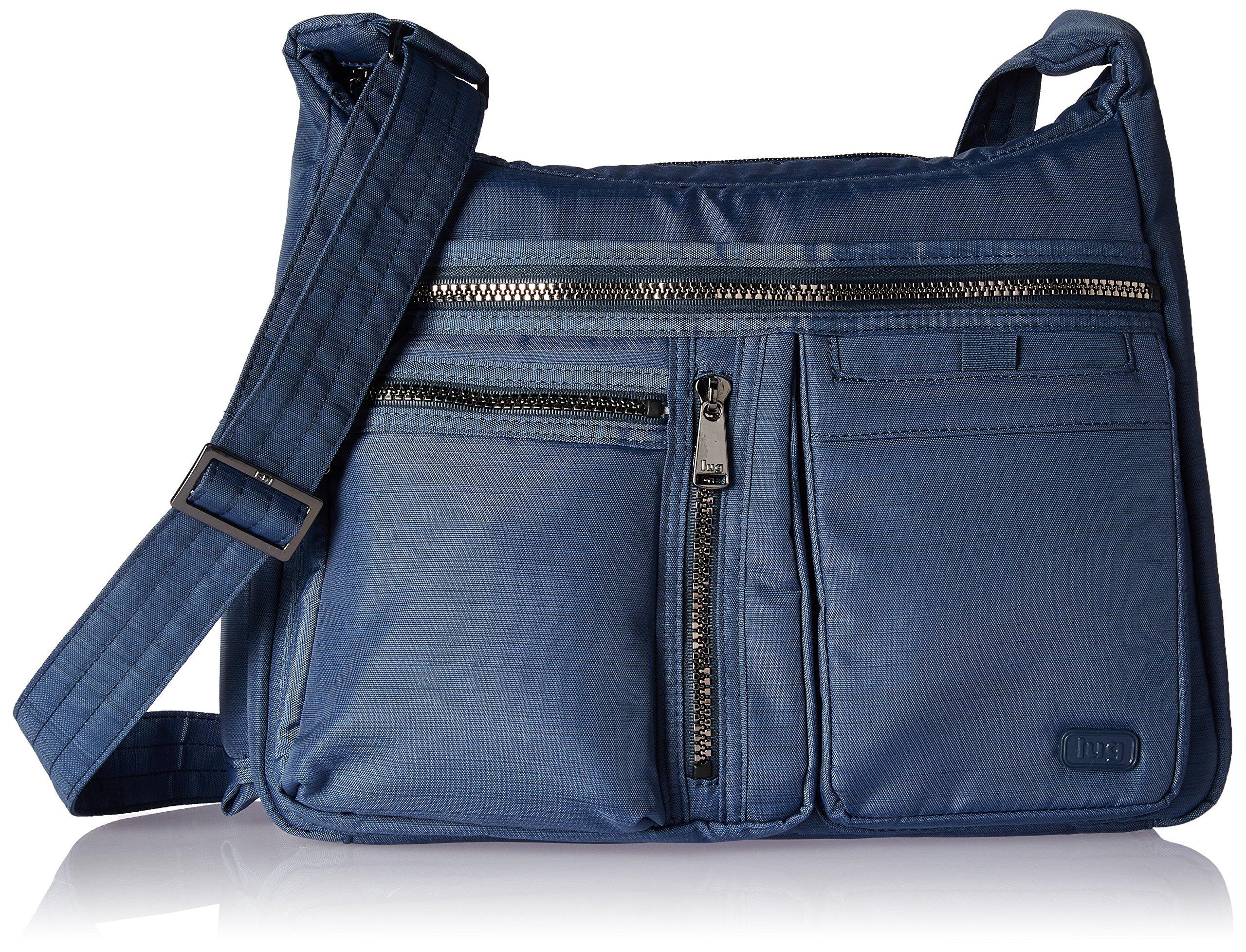 Lug Women's Double Dutch Cross Body Bag, Brushed Blue, One Size