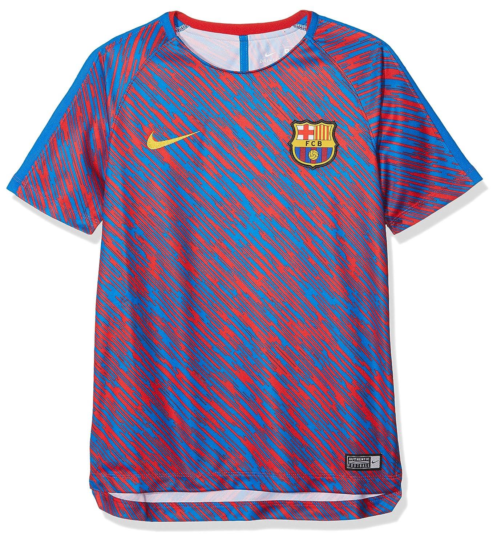 Nike FC Barcelona Dri-Fit Squad Oben Jungen Fußball