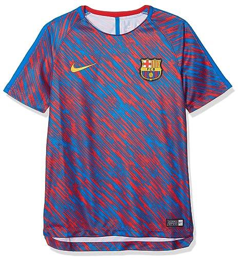 c4fbbff429b71 Nike FC Barcelona Dri-fit Squad Alto de fútbol para niño