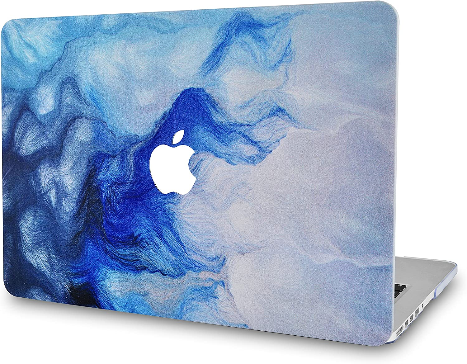 """LuvCaseLaptopCaseforMacBookPro 13"""" (2020/2019/2018/2017/2016) with/Without Touch Bar A2251/A2289/A2159/A1989/A1706/A1708 RubberizedPlasticHardShell Cover (Mist 12)"""