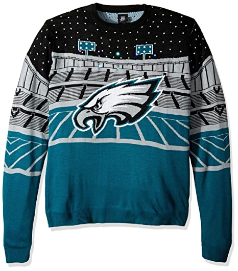 b22a62a85 Forever Collectibles NFL Philadelphia Eagles Unisex Bluetooth Light Up  SweaterBluetooth Light Up Sweater