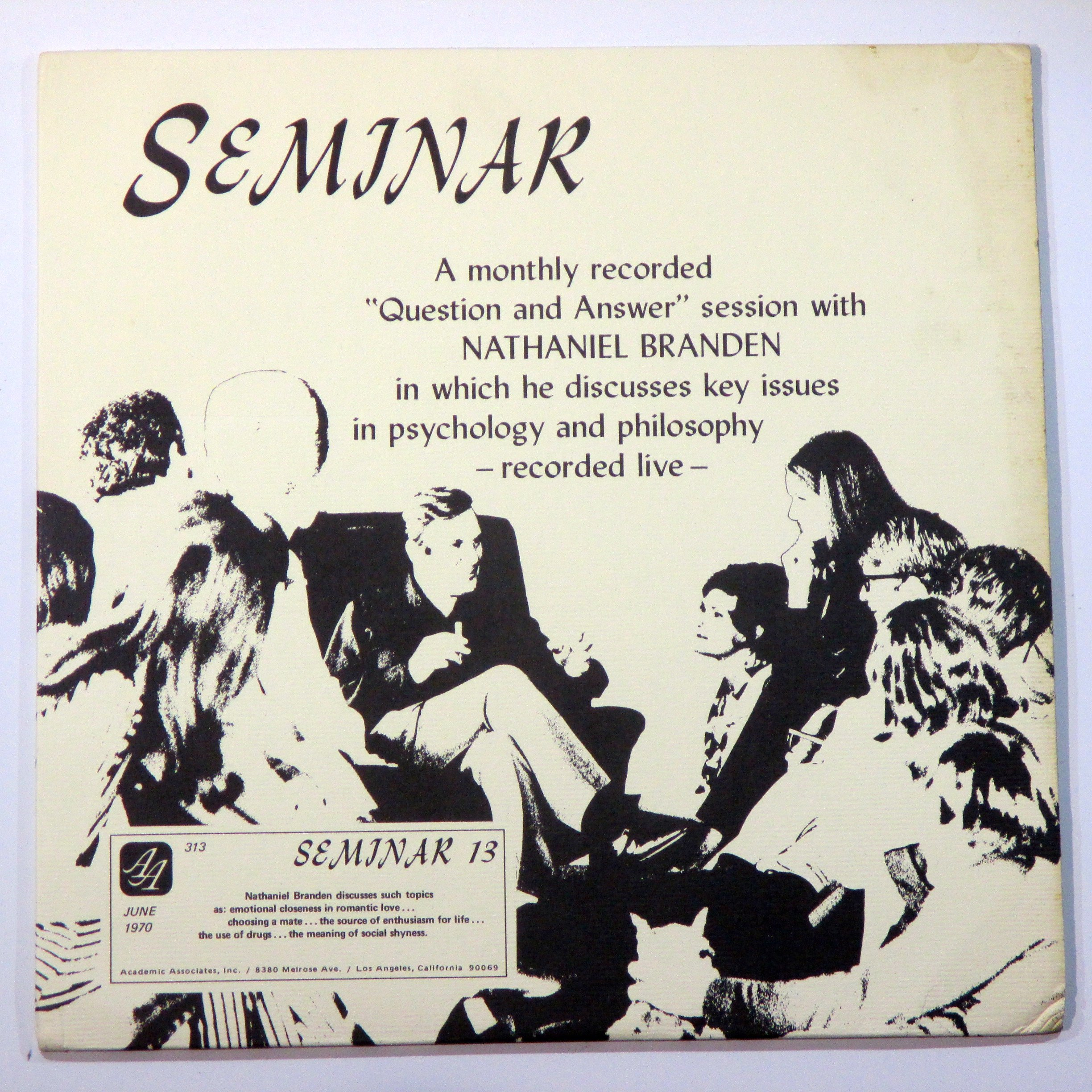 seminar 13 LP by ACADEMIC ASSOCIATES