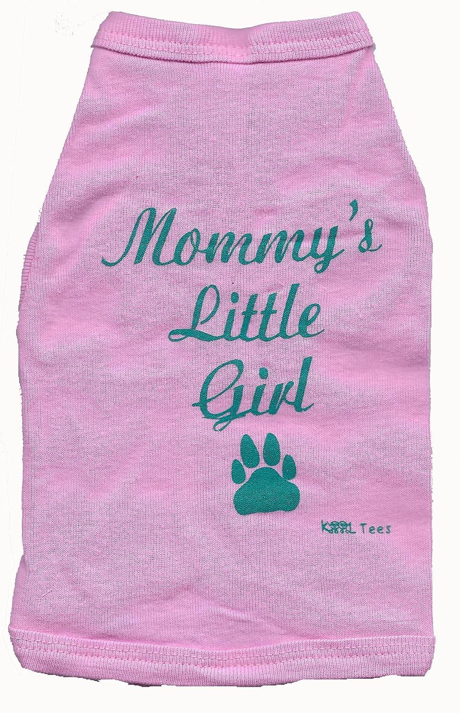 Mommy's Little Girl Dog Tee,