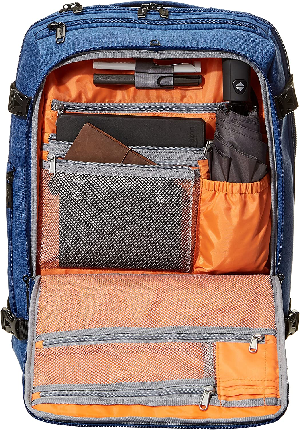 Basics Slim Carry On Travel Backpack