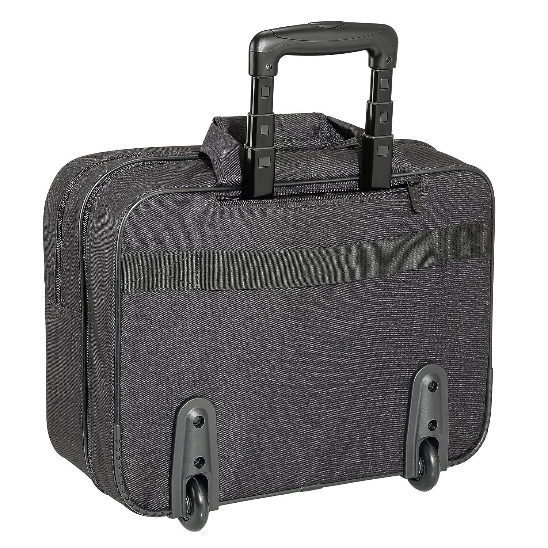 , Negro 17.3 Trolley Case, 43,9 cm 17.3 PEDEA 66066255 maletines para port/átil 43,9 cm Funda Trolley Case Negro