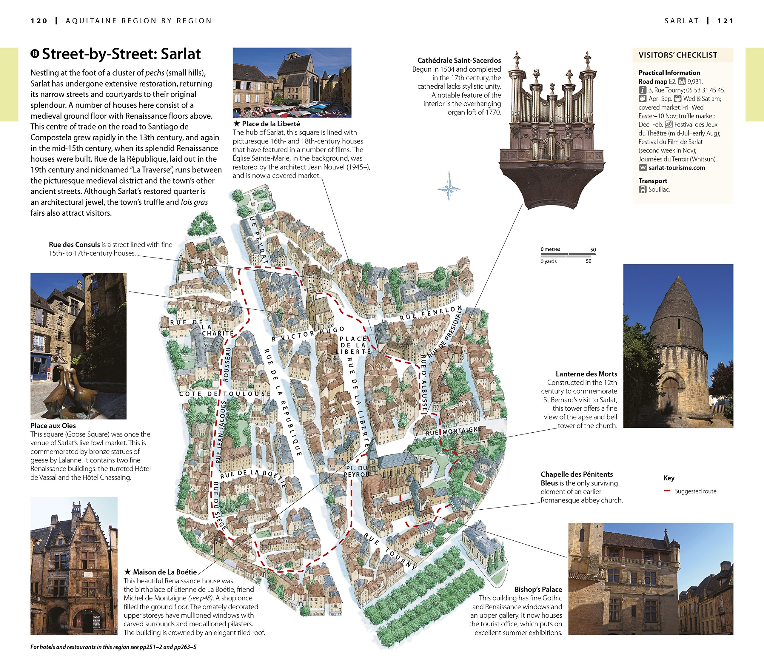 Image result for 14th-century bell tower, where renowned architect and Sarlat local Jean Nouvel has designed a panoramic glass lift offering 360-degree views.