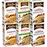 Near East Rice Variety Pack, Couscous and Quinoa, 6 Count