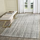 Safavieh Abstract Collection ABT141B Contemporary Handmade Grey and Black Premium Wool Area Rug (8' x 10')