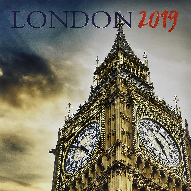 Grupo Erik - Calendario Da Muro 2019 London 30 X 30 Cm
