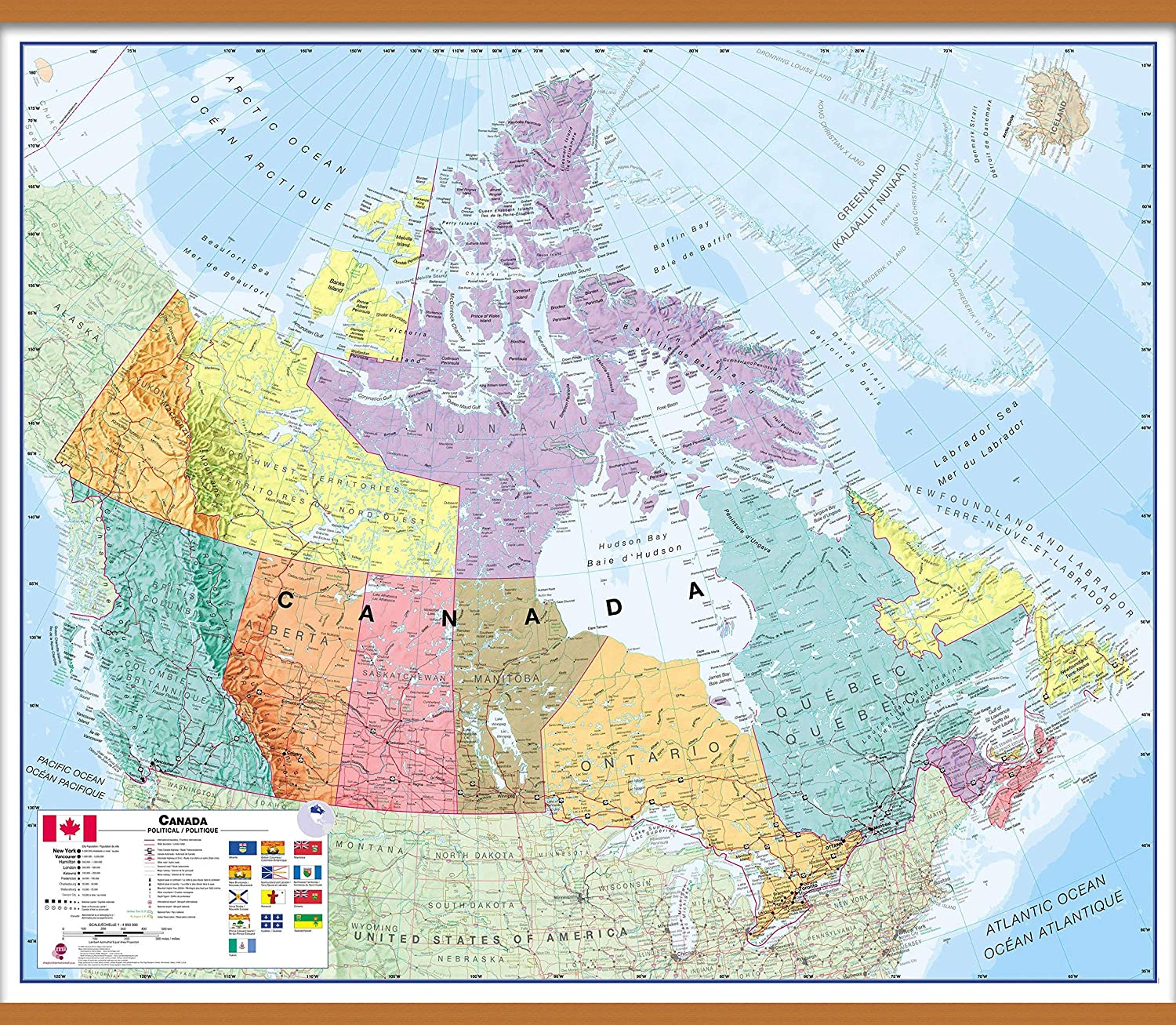 Map Of Canada Roads Neska State Map With Highways on