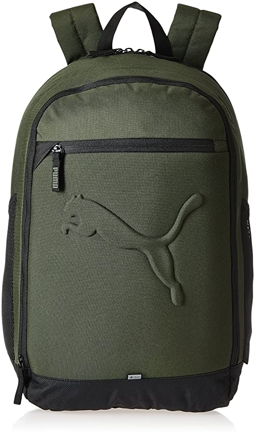 59dfbf2b13d1 Puma 26 Ltrs Olive Night Laptop Backpack (7358125)  Amazon.in  Bags ...