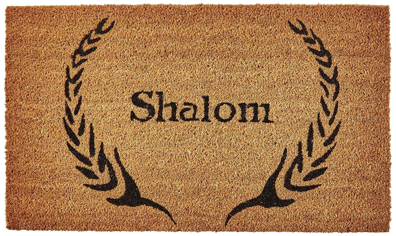 "Calloway Mills 120841729 Shalom Doormat, 17"" x 29"" x 0.60"", Natural/Black"