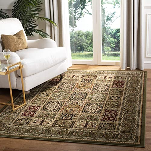 Safavieh Lyndhurst Collection LNH217A Traditional Multi and Green Area Rug 6 x 9