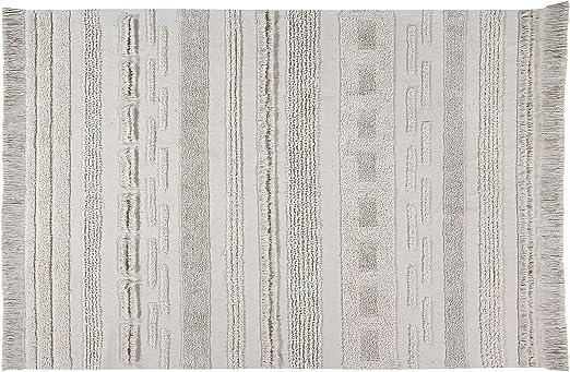Lorena Canals Alfombra Lavable Air Dune White Algodón reciclado - Beige - 170x240 cm: Amazon.es: Juguetes y juegos