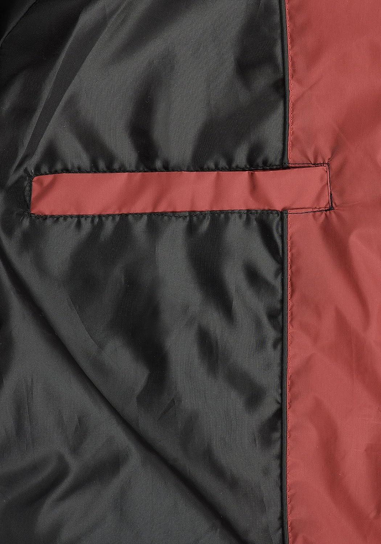 Blend Nilo Veste Doudoune Gilet Sans Manches Pour Homme À Capuche Rust Red (73830)