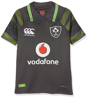 Canterbury Ireland Official 17/18 Kids Short Sleeve Alternate Pro Jersey