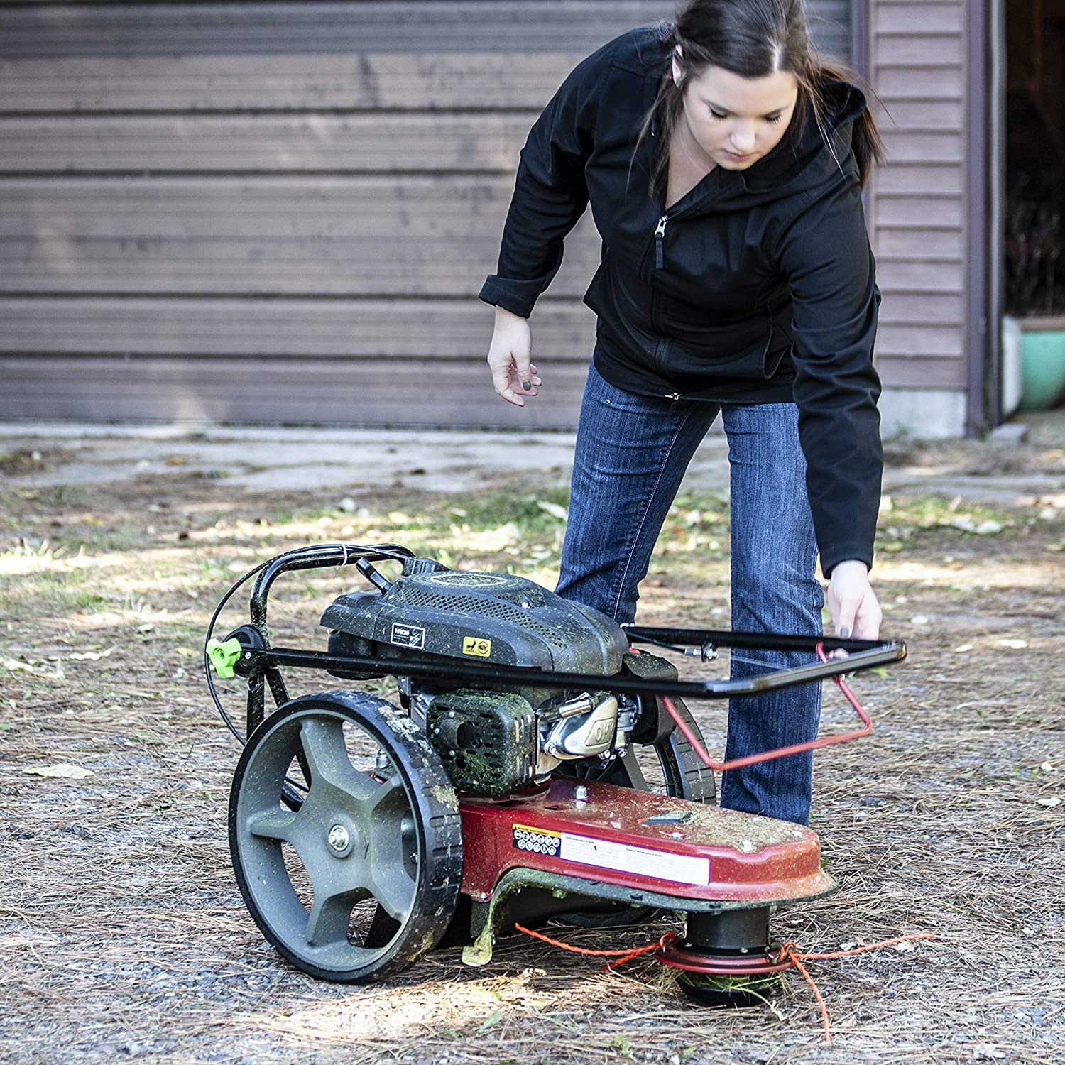 Best Mower For 5 Acres EARTHQUAKE 28463 M205 150cc 4-Cycle Viper Engine