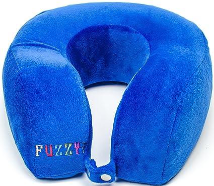 amazon com fuzzytot super soft therapeutic memory foam neck