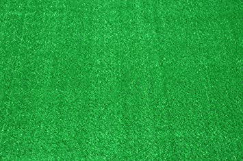 Indoor/Outdoor Carpet Green Artificial Grass Turf Area Rug 8u0027 X ...