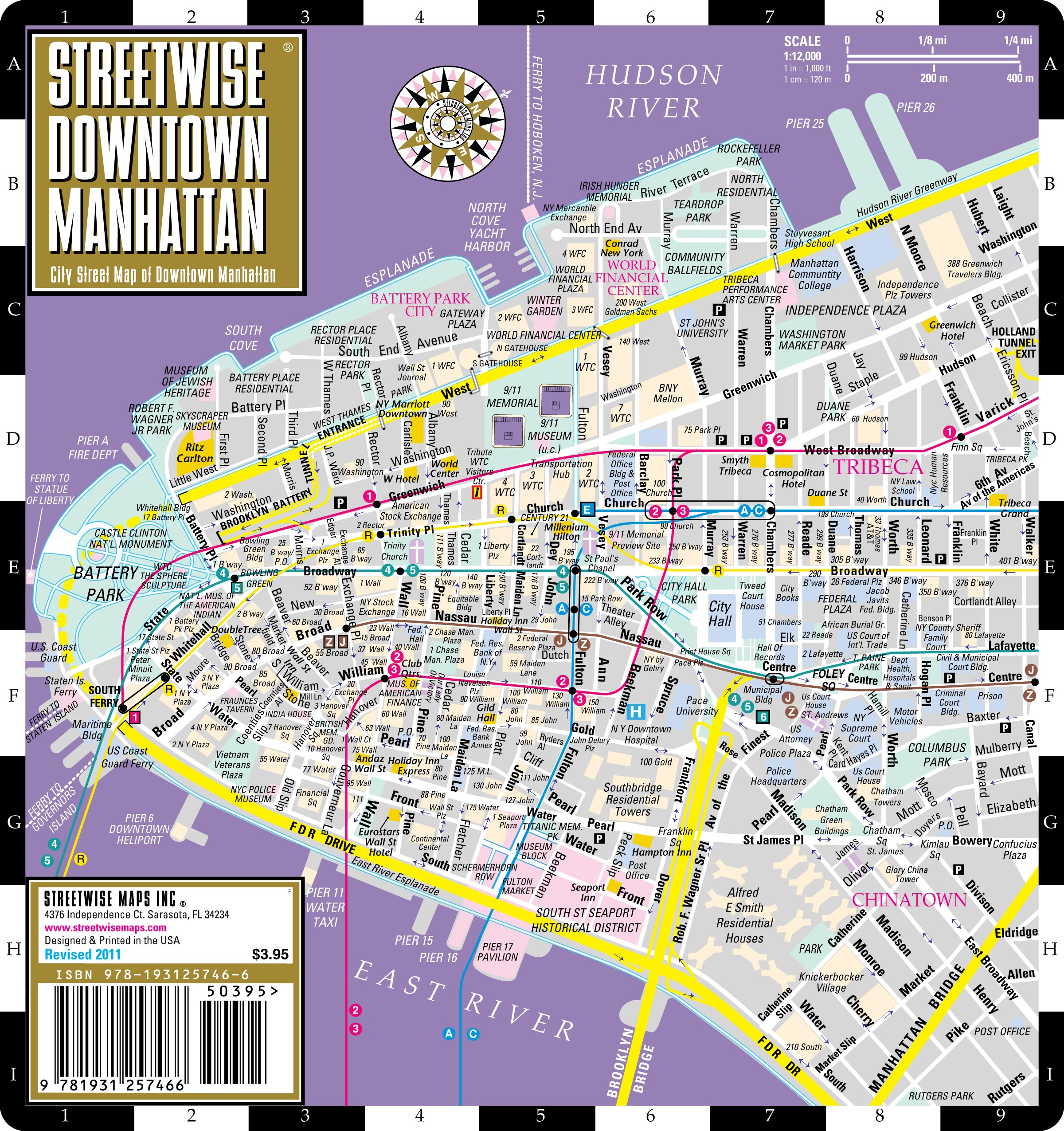 Streetwise Downtown Manhattan Map - Laminated Street Map of ... on manhattan avenues and streets, manhattan nd map, world trade center on a map, 1920s manhattan map, midtown manhattan map, manhattan street map, manhattan island, manhattan south map, manhattan los angeles map, manhattan hotel map, manhattan tx map, manhattan new york subway, manhattan rooftop bars in december, lower manhattan map, manhattan nebraska map, manhattan yonkers map, nyc map, manhattan on us map, manhattan tourist map, new city street map,