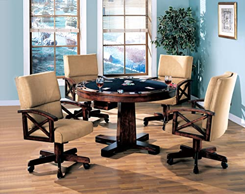 Coaster Home Furnishings Marietta 3-in-1 Dining Game Table