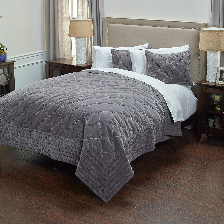 Rizzy Home BQ4192 Quilt, 90