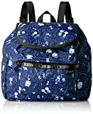 LeSportsac Women's Peanuts X Small Edie Backpack, Snoopy Stargazer