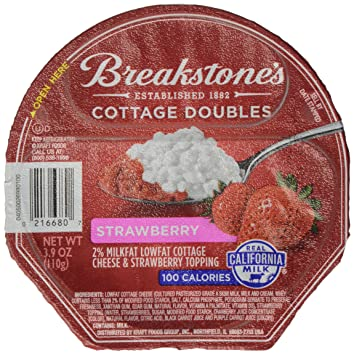 Breakstones Cottage Doubles Strawberry Cheese 39