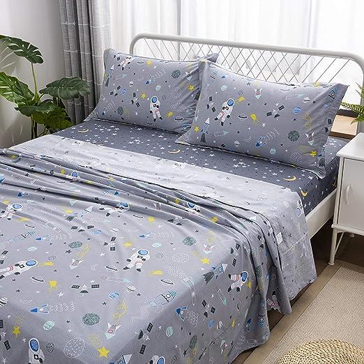 Amazon Com Brandream Kids Bedding Sets Full Size Boys Bed Sheet