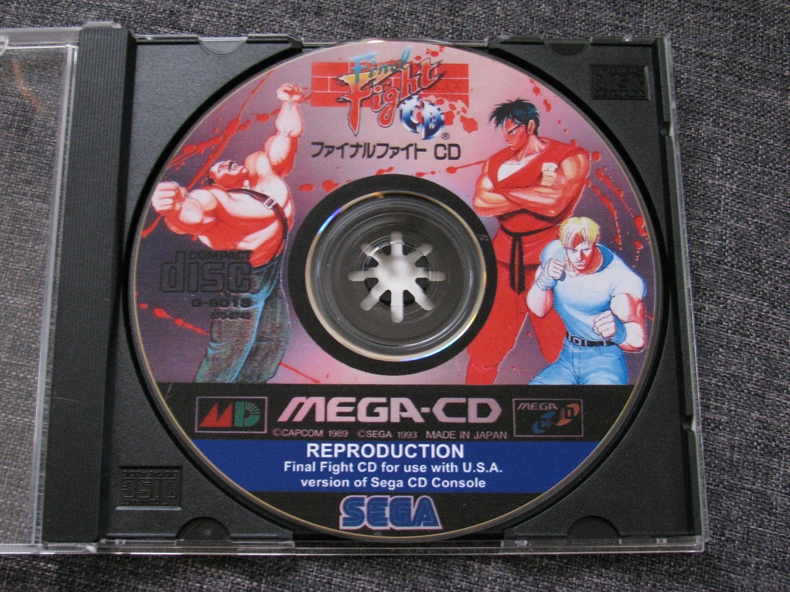Amazon.com: Final Fight (Sega CD): Video Games