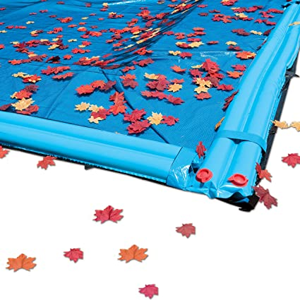 Amazon.com : In The Swim 20 x 40 ft Rectangle Pool Leaf Net Cover ...