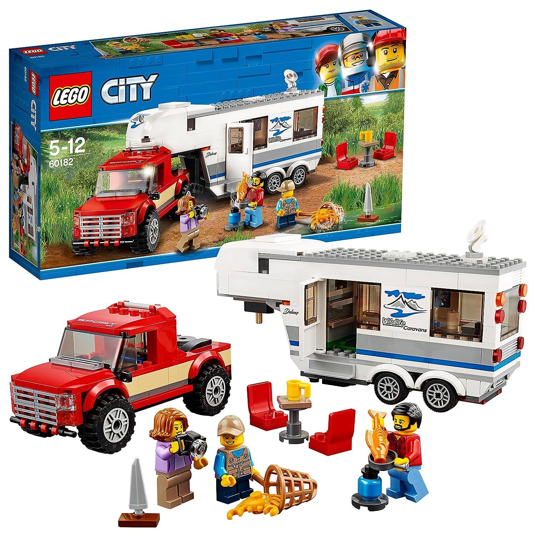 LEGO City Great Vehicles Lego Camioneta y caravana